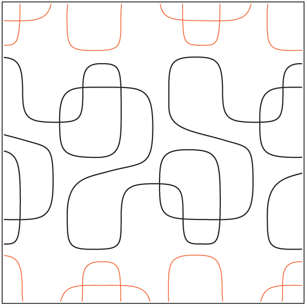 Soft image within free printable pantograph quilting patterns