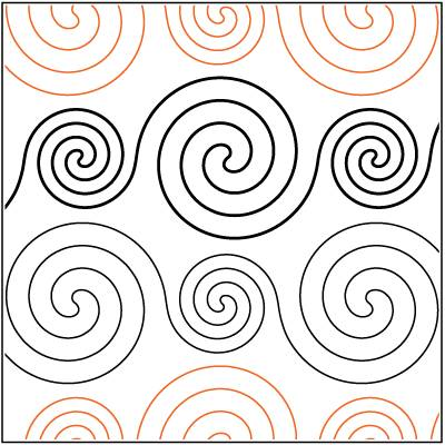 Spirals Large and Small Paper Pantograph 4