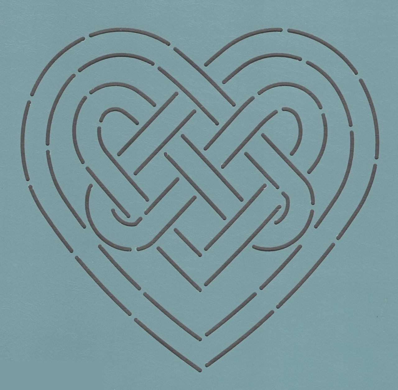 Celtic Heart Knot 8