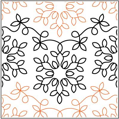Winter Wonderland Paper Pantograph 10.5