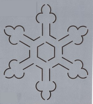 Continuous Snowflake #3 - 6""