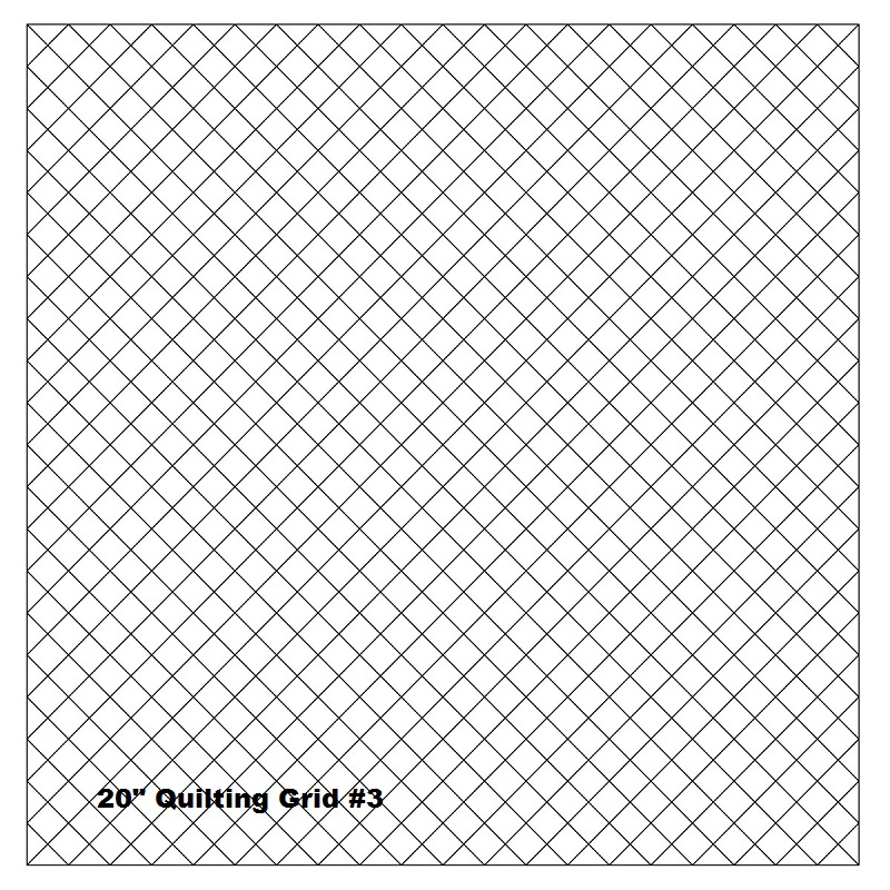 quilting with grids preprinted panel 1 diagonal
