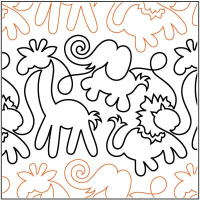 Animal Crackers Paper Pantograph 9.5