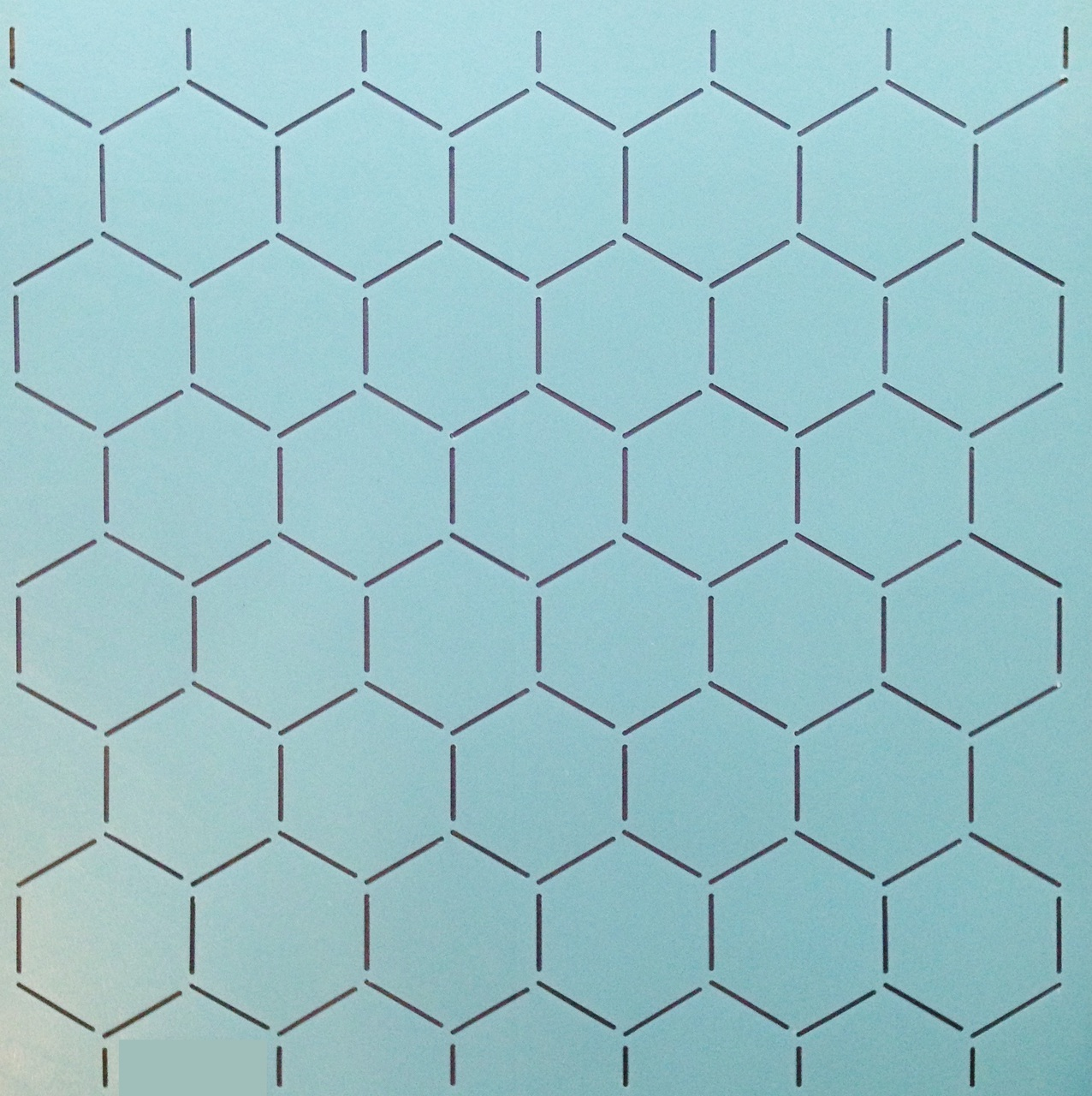 Honeycomb Background 12'' [2'' x 2'' Design]