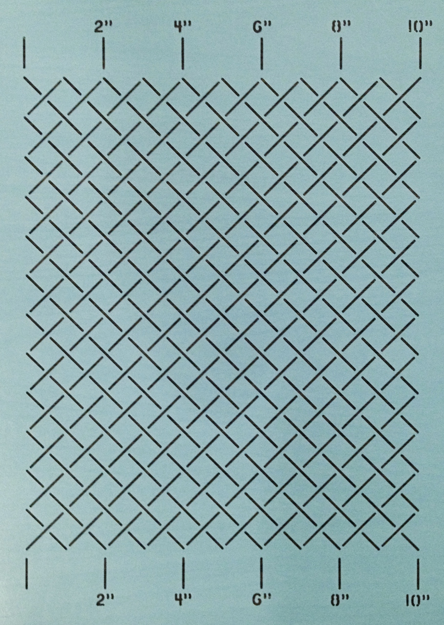 Measured Grid 1'' [10''x12'']