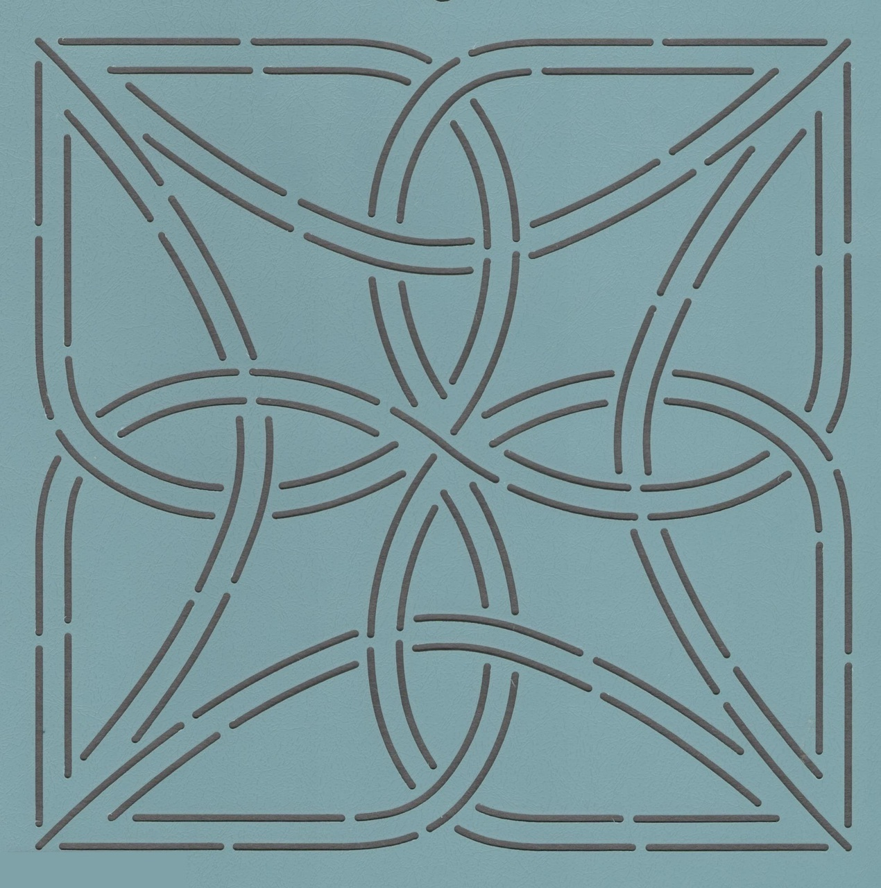 Celtic Knot Block 5''