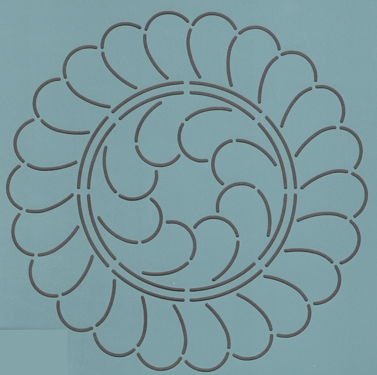Divided Feather Wreath 7