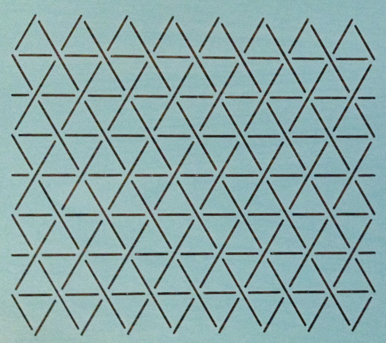 Hexie Grid 1'' [9'' x8'']