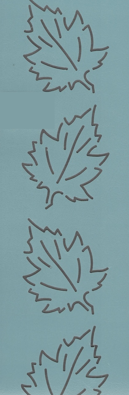 Maple Leaf Border 2.5''