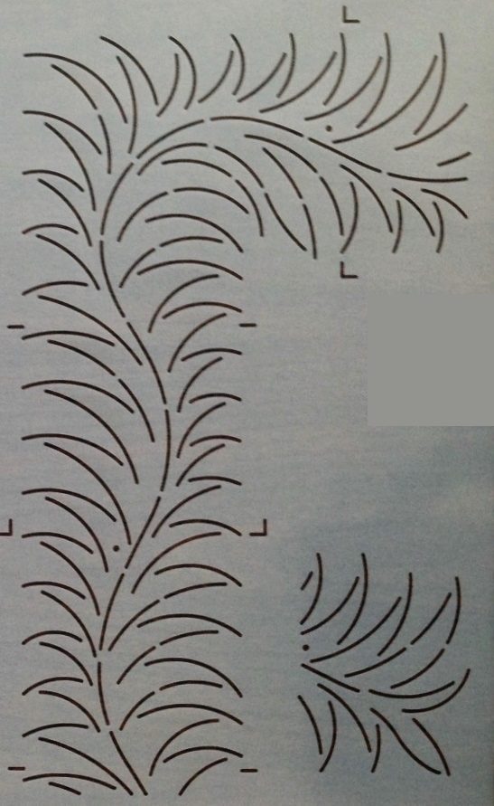Fern Feather Border 4