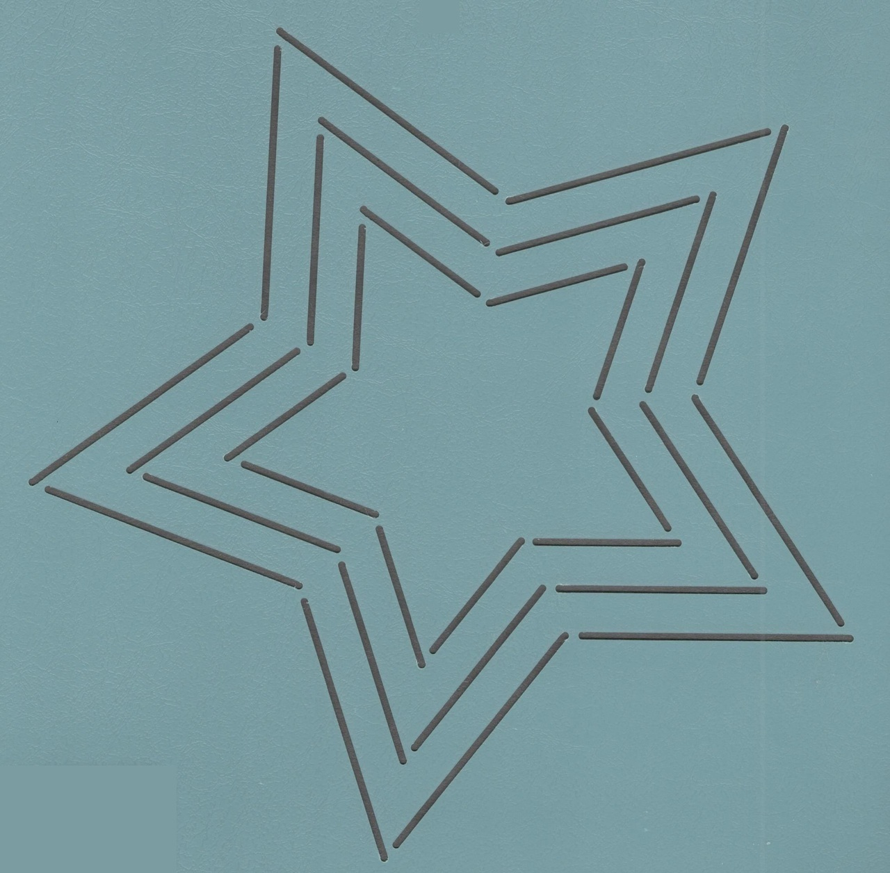 Five Pointed Star 9