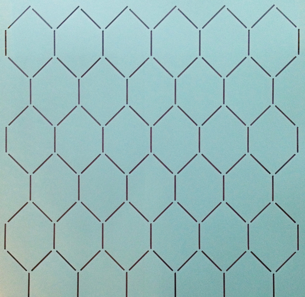 Chicken Wire Background 12'' [2'' x 3'' Design]