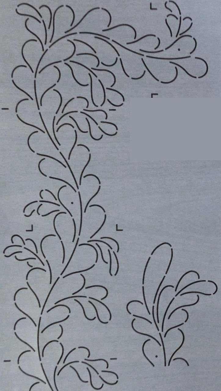 Feather Tip Border 6