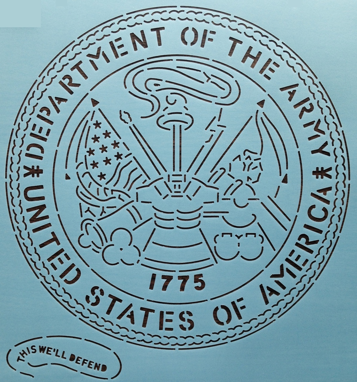 Army Seal 12''