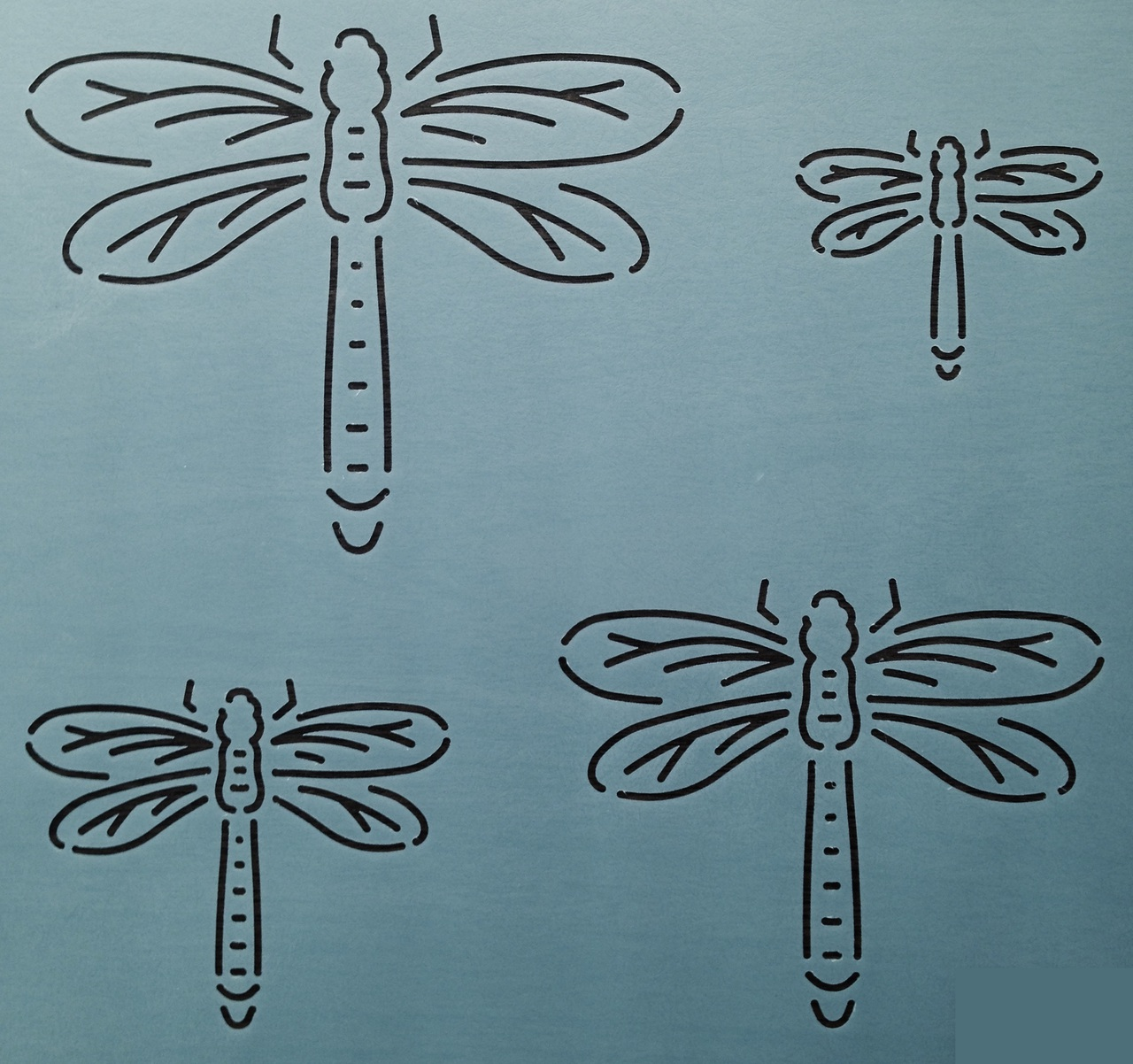 Dragonfly 2'', 3'', 4'' & 5''