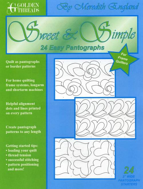 Sweet & Simple Paper Pantograph Pack-24 Paper Patterns