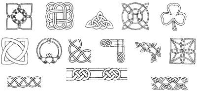 Celtic Designs Digitized for Embroidery