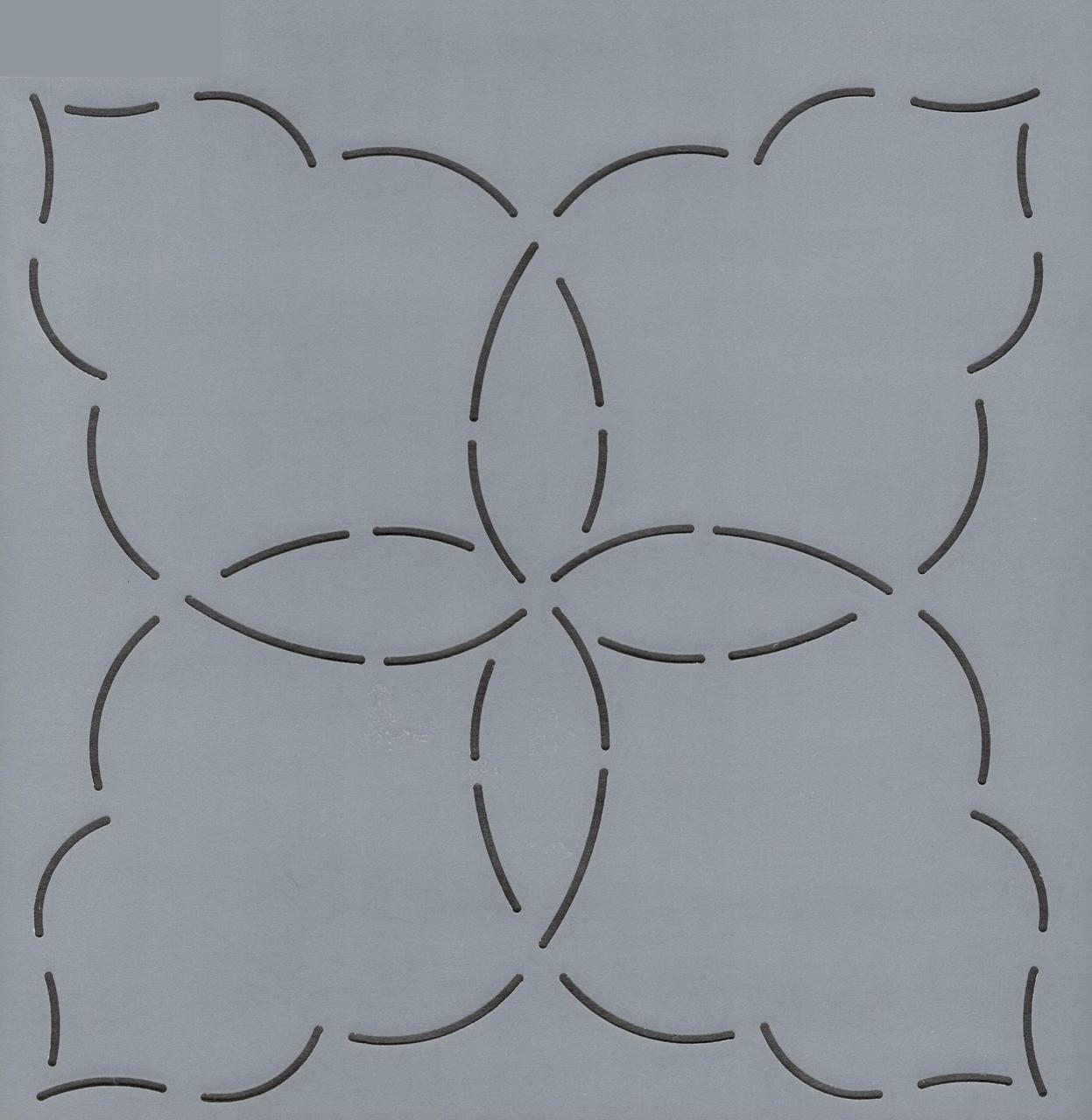 Interlocking Petals 7.5''