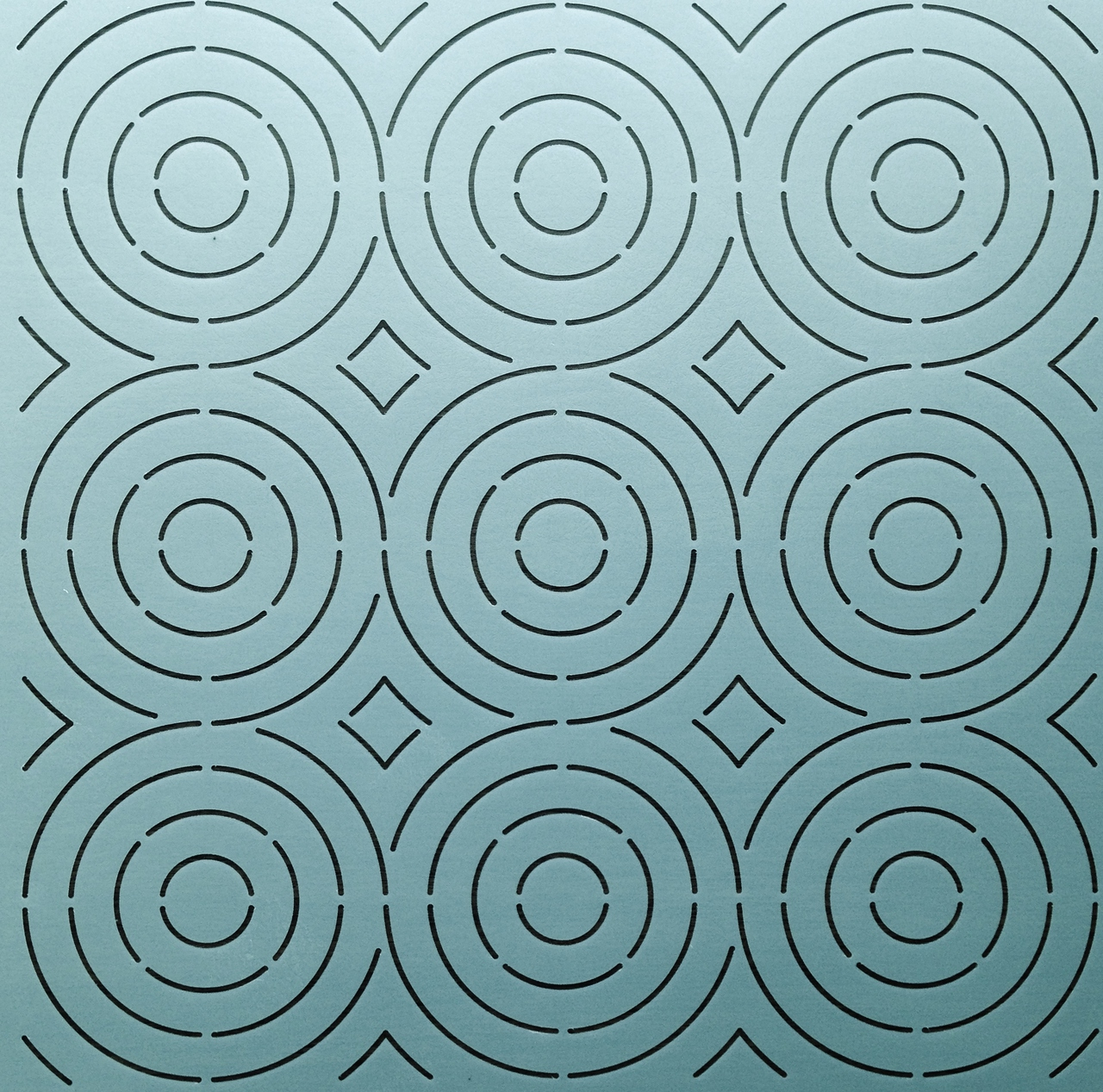 Circles Background 12''