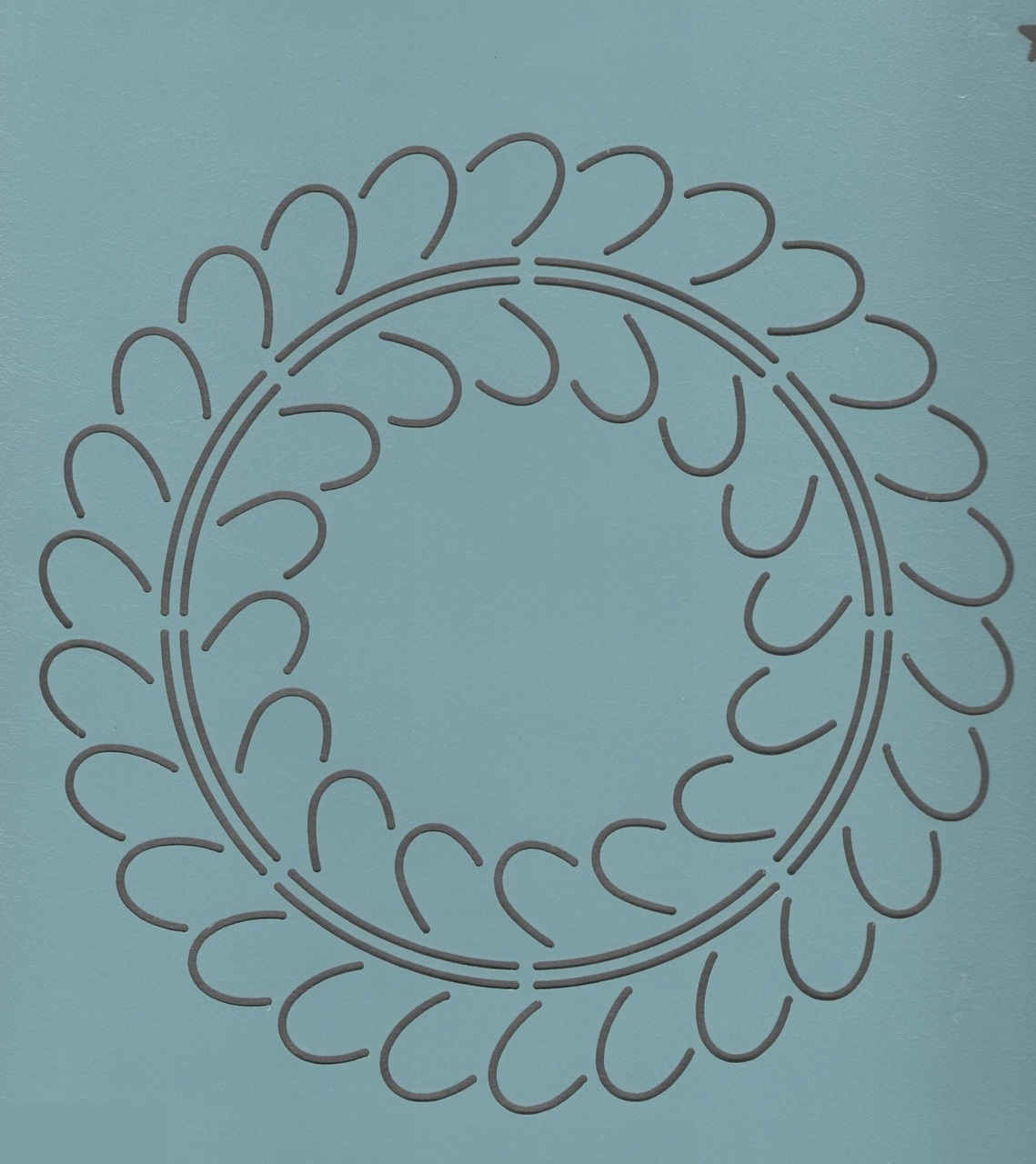 Feather Wreath #2  7.5''
