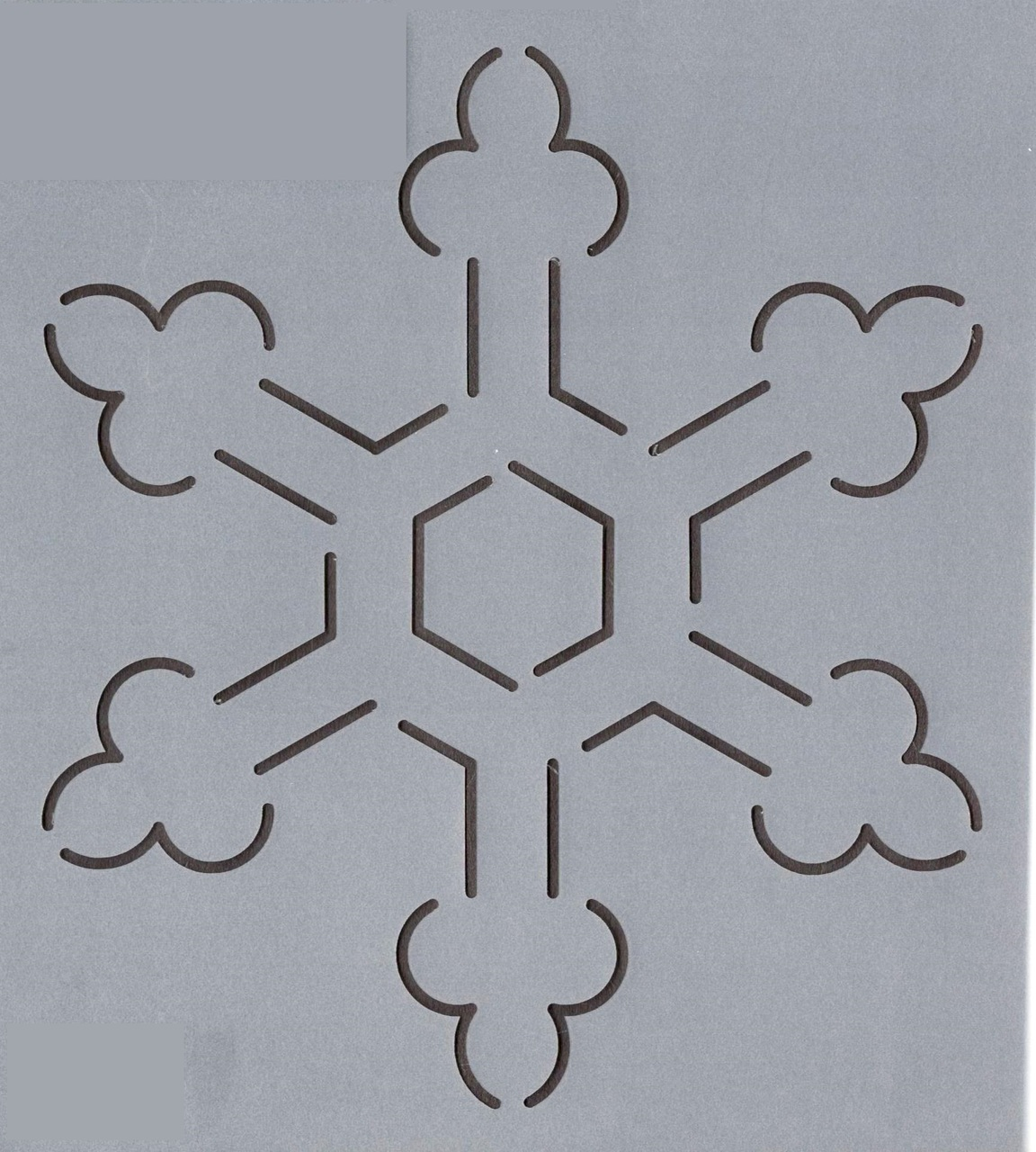 Continuous Snowflake #3 - 6''