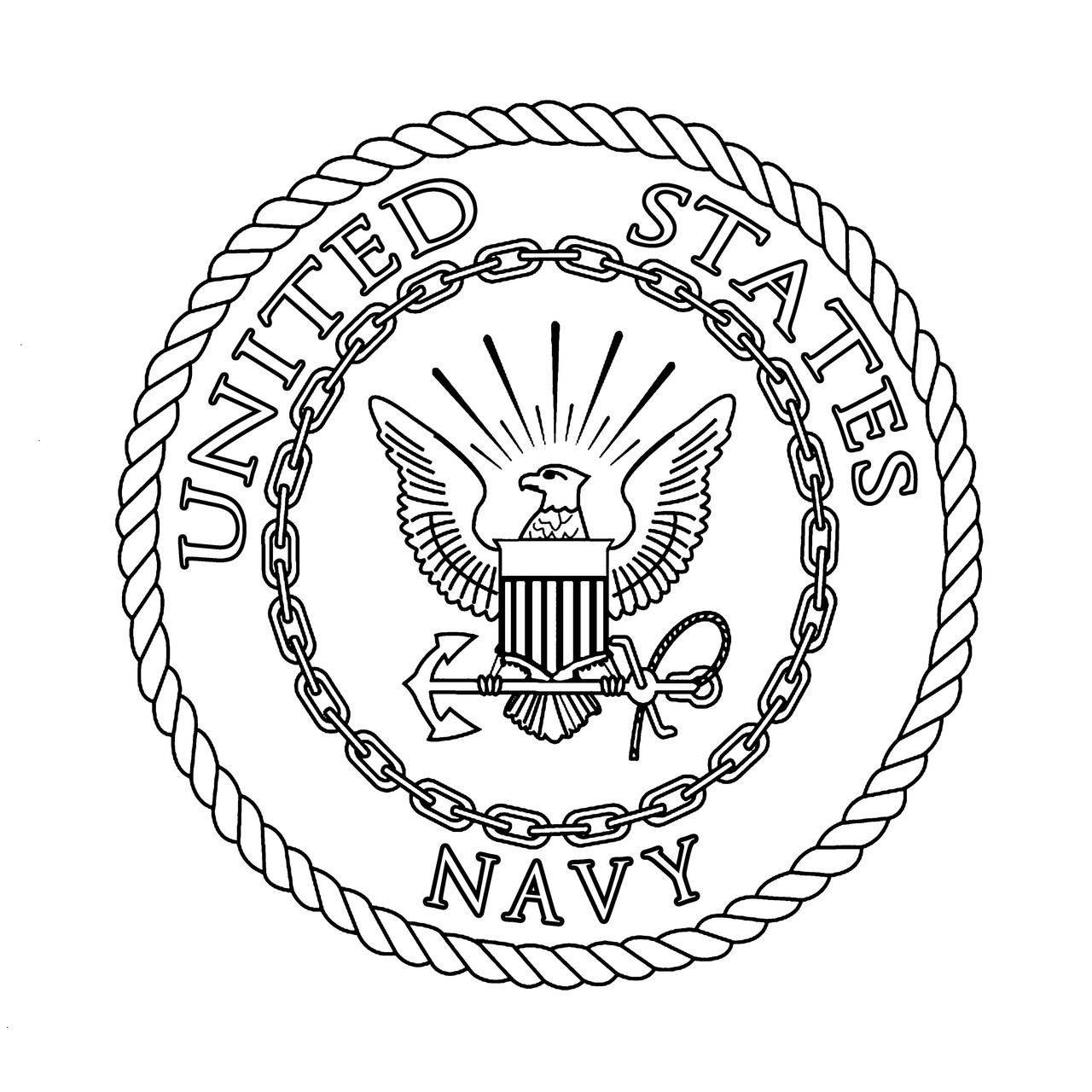 Navy Preprinted Wholecloth 12