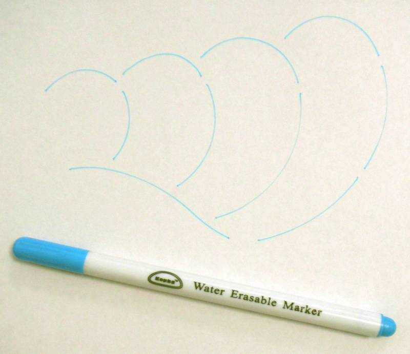 Blue Water Erasable Marker