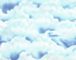 Fluffy Clouds- Fat Quarter Cut