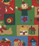 Toys- Fat Quarter Cut