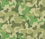 Dog Bone Camo- Fat Quarter Cut