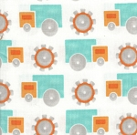 Gear Trucks- Fat Quarter Cut