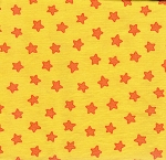 Pete's Yellow Stars- Fat Quarter Cut