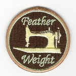 Quilt Patches 2''- Iron on- Featherweight