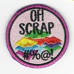 Quilt Patches 2''- Iron on-Oh Scrap