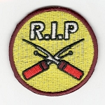 Quilt Patches 2''- Iron on-RIP