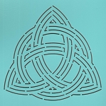Double Celtic Triangle Knot 6