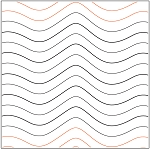 Good Vibrations #2 Paper Pantograph 3/4''