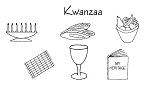 Kwanzaa Symbols Digitized for Embroidery