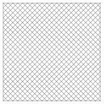 Quilting With Grids-Preprinted Panel- 1'' Diagonal