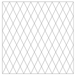 Quilting With Grids-Preprinted Panel- 2'' Diamonds