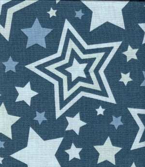 Big Star Blue- Fat Quarter Cut