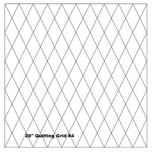 "Quilting With Grids-Preprinted Panel- 2"" Diamonds"