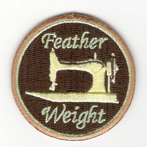 "Quilt Patches 2""- Iron on- Featherweight"