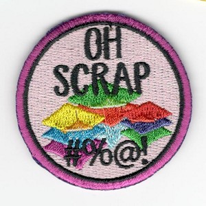 "Quilt Patches 2""- Iron on-Oh Scrap"