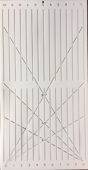 "Grid Guide 3/4"" [10"" x 20""]"