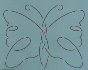 Continuous Butterfly Front 3""