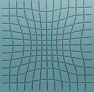 Pinched Grid 12""