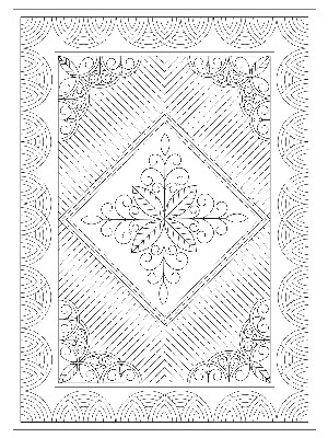 "Welsh Lap Quilt 36"" x 50"" (White)"