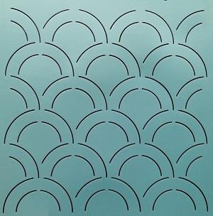 Double Clam Shell Background 12 Quot 2 Quot X 4 Quot Design